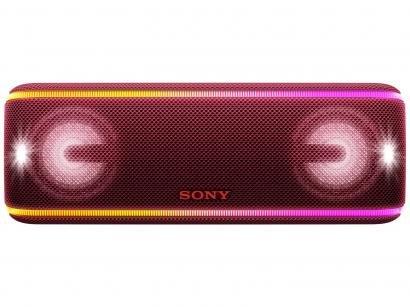 Caixa de Som Bluetooth Portátil à prova dágua - Sony SRS-XB41 40W USB com...