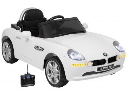 Carro Elétrico Infantil BMW Z8 - com Controle Remoto 2 Marchas Emite Sons 12V