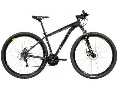 Bicicleta Caloi 29 A18 21 Marchas - Suspensão Dianteira Câmbio Shimano