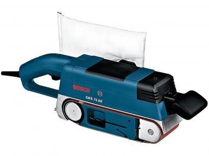 Lixadeira de Rolo Cinta Elétrica Bosch - Profissional 710W GBS 75 AE