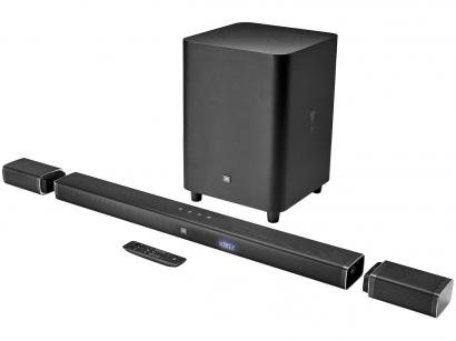 Soundbar JBL Bar 5.1 Canais 218W Bluetooth - Subwoofer USB