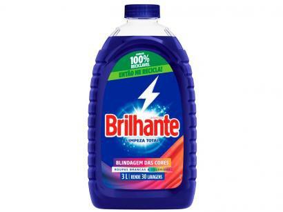 Sabão Líquido Brilhante Limpeza Total - 3L