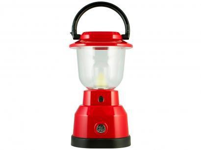 Lampião Vermelho LED GE - 039629