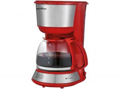 Cafeteira Elétrica Britânia BCF36IV Vermelha - 30 Xícaras