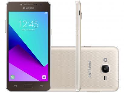 """Smartphone Samsung Galaxy J2 Prime 16GB Dourado 4G - 1,5GB RAM Tela 5"""" Câm. 8MP..."""