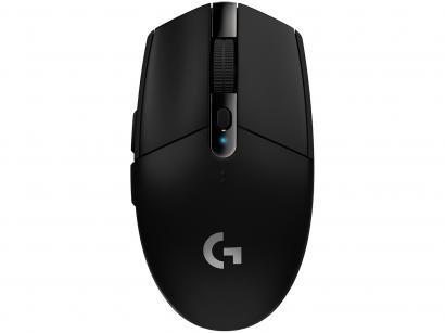 Mouse Gamer Sem Fio Sensor Óptico 12000DPI - Logitech G305 Preto