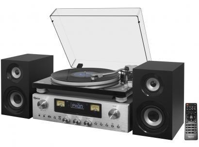 Toca Disco Raveo Concert One Bluetooth com NFC - Entrada Fone Auxiliar CD...