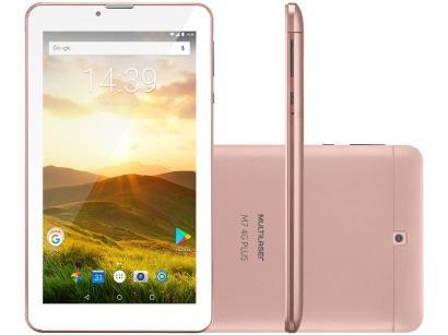 "Tablet Multilaser M7 8GB 7"" 4G Wi-Fi - Android 8.1 Quad Core com Câmera Integrada"