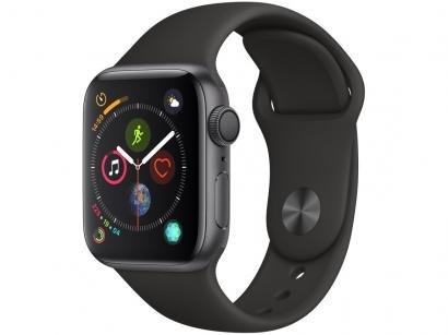 Apple Watch Series 4 40mm GPS Integrado Wi-Fi - Bluetooth Pulseira Esportiva...