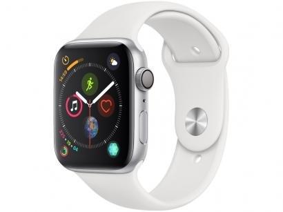 Apple Watch Series 4 44mm GPS Integrado Wi-Fi - Bluetooth Pulseira Esportiva...