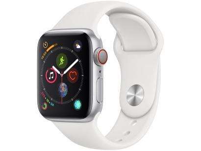 Apple Watch Series 4 40mm Cellular GPS Integrado - Wi-Fi Bluetooth Pulseira...
