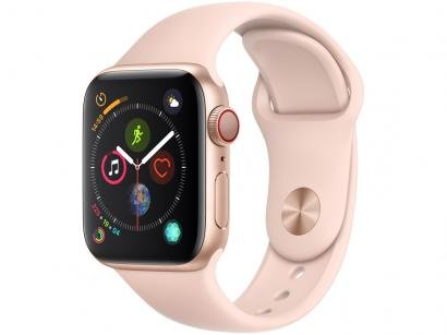 Apple Watch Series 4 40mm Cellular GPS Integrado - Wi-Fi Bluetooth Pulseira...