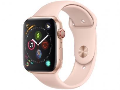 Apple Watch Series 4 44mm Cellular GPS Integrado - Wi-Fi Bluetooth Pulseira...