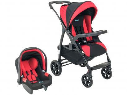 Carrinho de Bebê Passeio Burigotto Travel System - Evol Reclinável 4 Posições...