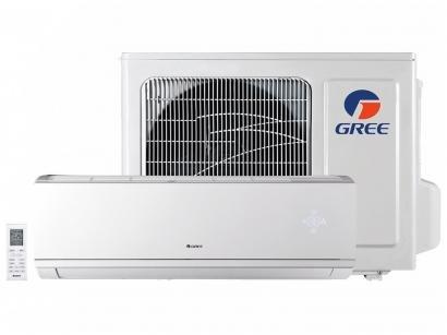 Ar-condicionado Split Gree Inverter 9.000 BTUs - Quente/Frio Hi-wall Eco Garden...