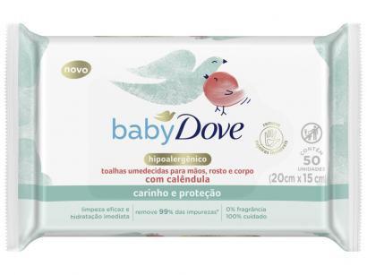 Lenço Umedecido Dove Baby - Hidratação Sensível 50 Unidades