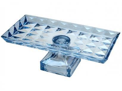 Centro de Mesa de Cristal Retangular Wolff - Diamant
