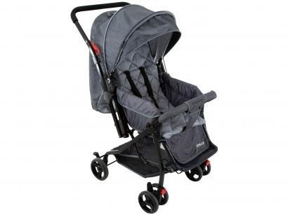 Carrinho de Bebê Passeio Cosco Happy Reclinável - Alça Reversível 3 Posições para Crianças até 15kg