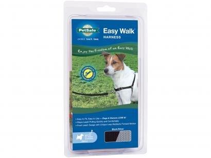 Guia para Cachorro Preta e Cinza Tam. P - PetSafe Easy Walk