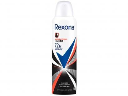 Desodorante Antitranspirante Aerossol Feminino - Rexona Motion Sense Invisible 150ml