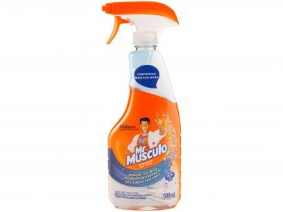 Desinfetante Mr Músculo Banheiro Total - Pulverizador 500ml