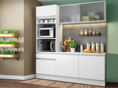 Cozinha Compacta Madesa Ametista G20086 com Balcão - Nicho para Forno ou...