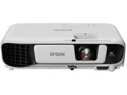 Projetor Epson PowerLite W42+ HD WXGA 1280x800 - 3600 Lumens 3LCD HDMI USB Wi-Fi Integrado