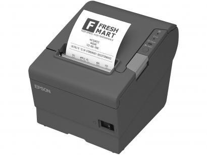 Impressora Térmica Epson Não Fiscal - TM-T88V USB/Serial