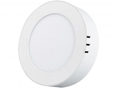 Painel LED de Embutir Redondo 6W 6500K - Black + Decker BDPD-0350-02