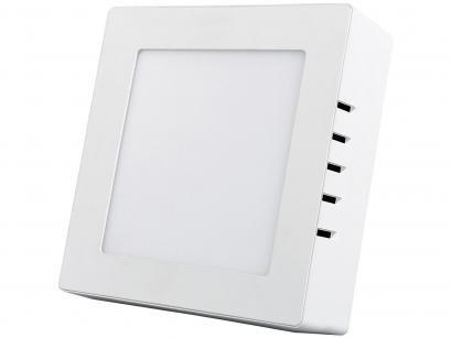 Painel LED de Embutir Quadrado 12W 6500K - Black + Decker BDPD-0800-01