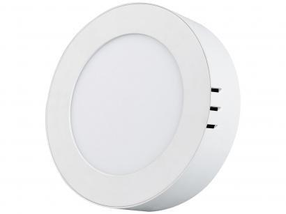 Painel LED de Embutir Redondo 12W 6500K - Black + Decker BDPD-0800-02