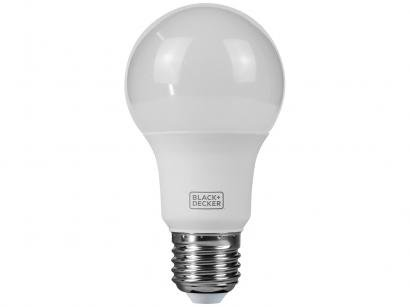 Lâmpada LED 9,8W 3000K Amerela Black + Decker - Bulbo A60