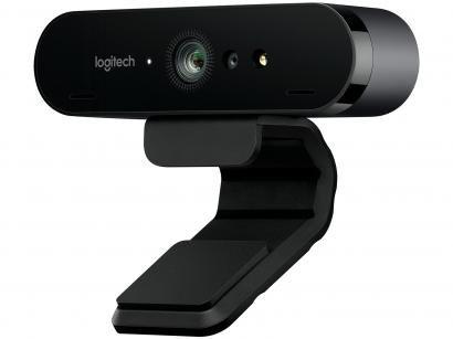 Webcam Logitech Brio 4K - com Microfone