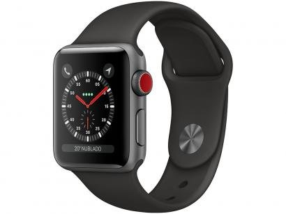 Apple Watch Series 3 38mm Cellular GPS Integrado - Wi-Fi Bluetooth Pulseira...