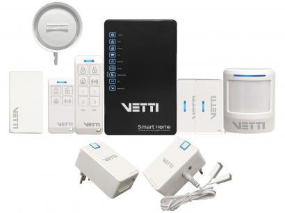 Smart Home Kit Sistema de Automação e Alarme - 7300777 Vetti Controle pelo Aplicativo de Celular