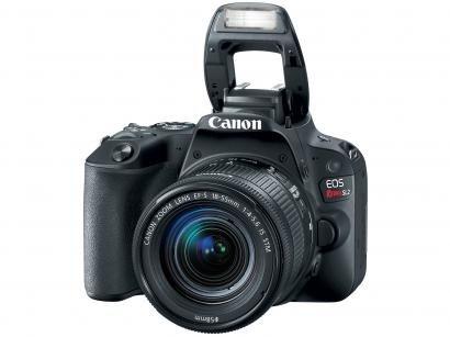 "Câmera Digital Canon DSLR EOS REBEL SL2 24,2MP - Semiprofissional 3"" Touch Zoom..."