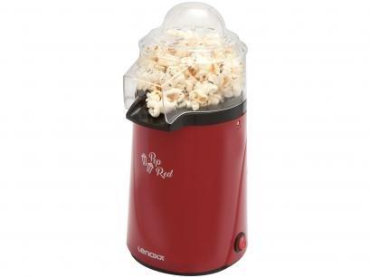 Pipoqueira Elétrica Lenoxx Pop Red - Vermelha 3 Xícaras de Pipoca