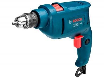 """Furadeira de Impacto Bosch 450W - Velocidade Variável 3/8"""" 3 Peças GSB 450 RE STD"""