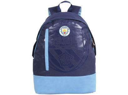 Mochila Juvenil Escolar Masculina Futebol - Tam. G DMW Sports Manchester City...