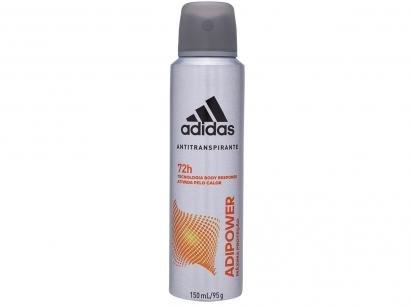 Desodorante Aerosol Antitranspirante Masculino - Adidas Adipower 150ml