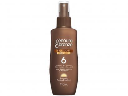 Spray Bronzeador Cenoura & Bronze 22693-0 - FPS 6 110ml
