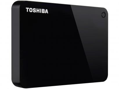 HD Externo 1TB Toshiba Canvio Advance - HDTC910XK3AA USB 3.0