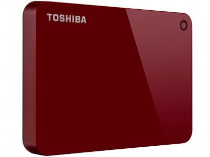 HD Externo 1TB Toshiba Canvio Advance - HDTC910XR3AA USB 3.0
