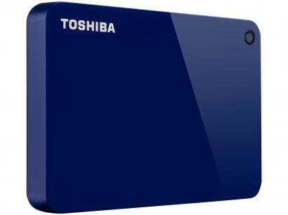 HD Externo 1TB Toshiba Canvio Advance - HDTC910XL3AA USB 3.0