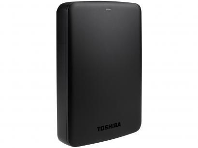 HD Externo 3TB Toshiba Canvio Basics - HDTB330XK3CB USB 3.0