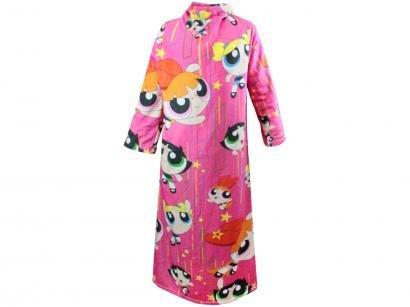 Cobertor com Manga Power Puff Girls - Master Comfort 10070580-ML