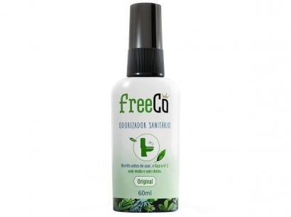 Desodorizador Sanitário Líquido FreeCô - Original Capim Limão 60ml