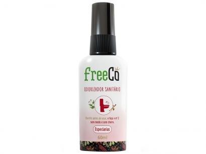 Desodorizador Sanitário Líquido FreeCô - Especiarias Cravo e Canela 60ml