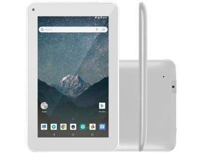"Tablet Multilaser M7s Lite NB297 8GB 7"" Wi-Fi - Android 8.1 Quad Core Câmera..."