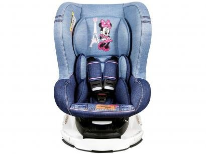 Cadeira para Auto Reclinável Disney 4 Posições - Revo Denim Minnie Mouse para...